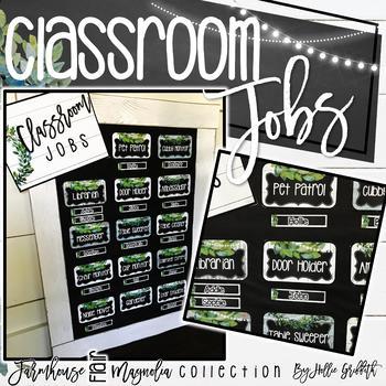 Farmhouse Flair Magnolia Classroom Jobs