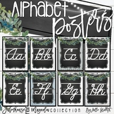 Farmhouse Flair Magnolia Cursive Alphabet Posters