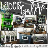 Editable Classroom Labels | Farmhouse Flair Magnolia Classroom Decor