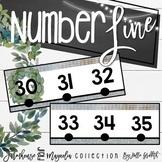 Farmhouse Flair Magnolia Number Line {-100-250}