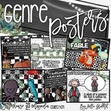 Farmhouse Flair Magnolia TILE Reading Genre Posters