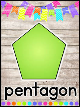 Farmhouse Flair NEON 2D and 3D Shape Posters