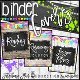 Farmhouse Flair NEON Binder Covers and Spines {FREEBIE}