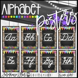 Farmhouse Flair NEON Cursive Alphabet Posters