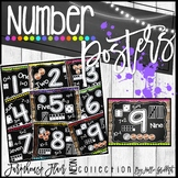 Farmhouse Flair NEON Number Sense Posters {1-20}