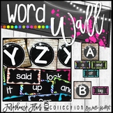 Farmhouse Flair NEON Word Wall {Headers and Sight Words -