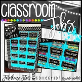 Farmhouse Flair Neon Classroom Jobs {Editable}