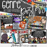 Farmhouse Flair Primary Reading Genre Posters