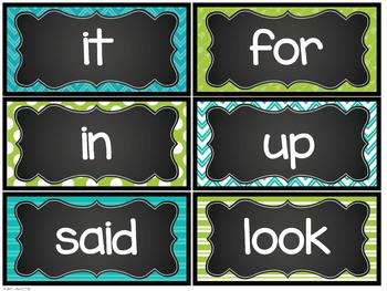Farmhouse Flair Word Wall {Headers and Sight Words - EDITABLE}