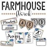 Farmhouse Floral Decor Bundle