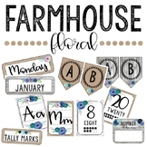 Farmhouse Floral Decor Bundle