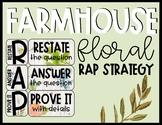 Farmhouse Floral RAP Strategy