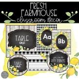 Farmhouse Fresh Classroom Decor