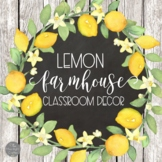 Farmhouse Fresh Classroom Decor BUNDLE