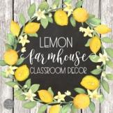 Farmhouse Fresh Classroom Decor BUNDLE
