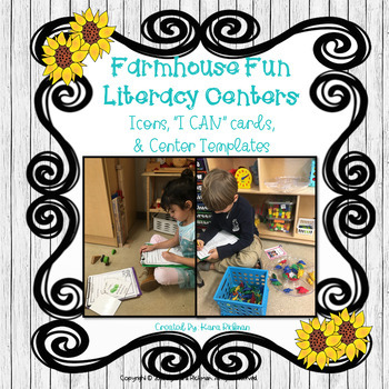 Farmhouse Fun: Literacy Centers for ALL Subjects