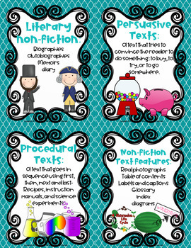 Farmhouse Fun: Reading Genre Posters