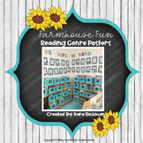Farmhouse Fun: Reading Genre Posters