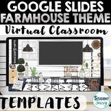 Farmhouse Google Slides Templates  Farmhouse Virtual Class