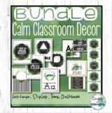 Farmhouse Decor Bundle - Shiplap, Forest, Chalkboard Calm Classroom Decor