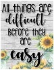Farmhouse Growth Mindset, Kindness & Inspirational Quote Posters