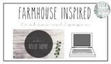 Farmhouse Inspired Desktop Wallpaper
