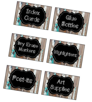 Farmhouse Labels
