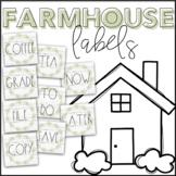Farmhouse Labels