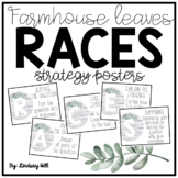 Farmhouse Leaves RACES Strategy Posters & Written Response