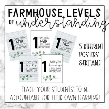 Farmhouse Levels of Understanding