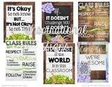 Farmhouse Motivational Posters: Growth Mindset, Encouragem