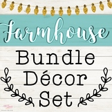 Farmhouse Music Decor Set