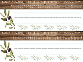 Farmhouse Nametags - Editable