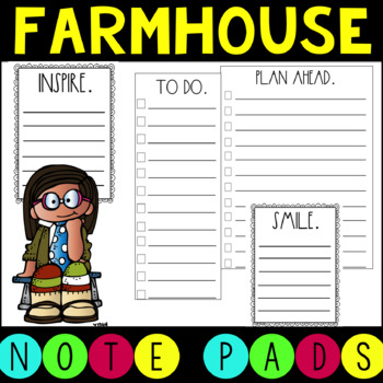 DIY Farmhouse Notepads