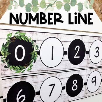 Farmhouse Number Line 0-200
