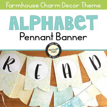 Farmhouse Pennant Banner