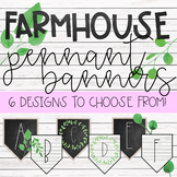 Farmhouse Pennant Banners