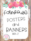 Farmhouse Posters and Banners Set 2