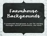 Farmhouse Powerpoint Backgrounds