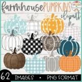 Farmhouse Pumpkins Clipart