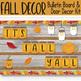 Autumn Bulletin Board - Editable Writing Paper