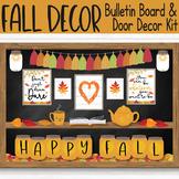 Autumn Farmhouse Bulletin Board - Virtual and In-Person Cl