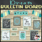 Farmhouse Rustic Chic Bulletin Board Display
