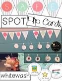Farmhouse Safe Spot Safe Place / Space Flip Cards Printable