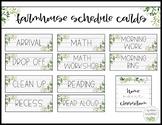 Farmhouse Schedule EDITABLE