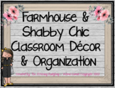 Farmhouse Shabby Chic Classroom Decor and Organization Growing Bundle