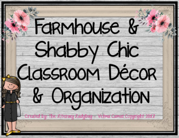 Inside shabby chic and the rustic farmhouse… - Decor ...  |Farmhouse Decor Shabby Organization