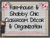 Farmhouse Shabby Chic Classroom Decor and Organization Gro