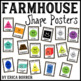Farmhouse Shape Posters