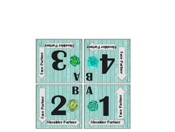 Farmhouse Ship & Succulent Kagan Grouping Cards